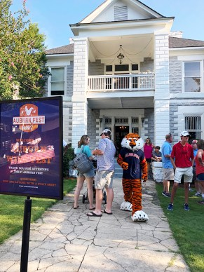 Auburn University's Aubie the Tiger will make a special appearance. (Sarah Hayward)